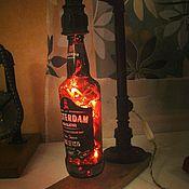 Для дома и интерьера ручной работы. Ярмарка Мастеров - ручная работа Лампы настольные из труб и пивных бутылок. Handmade.