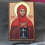 Картины и панно handmade. Livemaster - original item the image of St. Pelagia of ANTIOCH. Handmade.