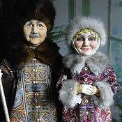 Куклы и игрушки ручной работы. Ярмарка Мастеров - ручная работа портретные куклы  РЮРИКОВИЧИ (Текстильные). Handmade.