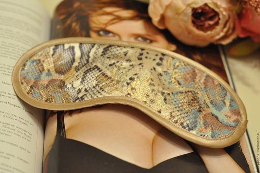 Персональные подарки ручной работы. Ярмарка Мастеров - ручная работа. Купить Маска для сна. Handmade. Комбинированный, маска для сна, кружево