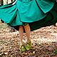 """Обувь ручной работы. Валяные туфельки """"Осенняя свежесть"""". Климчук Марина    mari_tyme. Ярмарка Мастеров. Обувь ручной работы, фурнитура"""