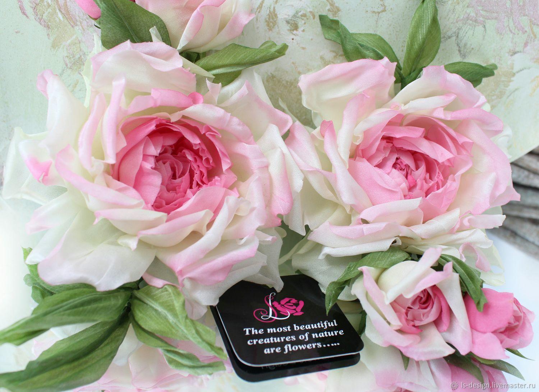 "Роза из шелка ""Цветочная фея"", Цветы, Киев,  Фото №1"