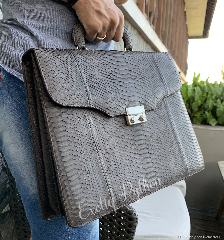 portfolio from Python, Men\'s bag, Moscow,  Фото №1