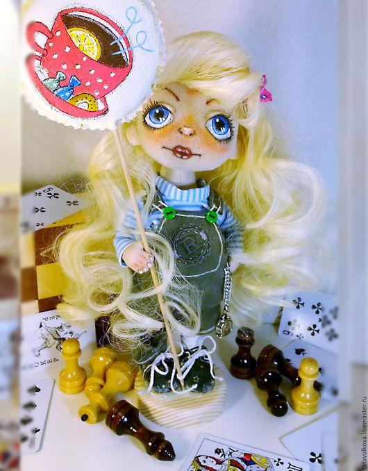 Коллекционные куклы ручной работы. Ярмарка Мастеров - ручная работа. Купить Текстильная кукла KNOPA. Handmade. Комбинированный, кукла, игрушки
