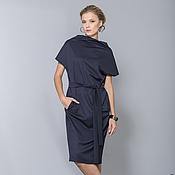 Одежда handmade. Livemaster - original item 1518S dress-blue. Handmade.