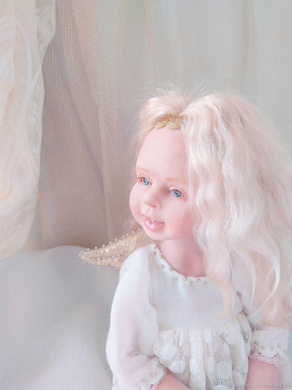 """Коллекционная кукла """"Ангелочек"""", Шарнирная кукла, Тюмень,  Фото №1"""