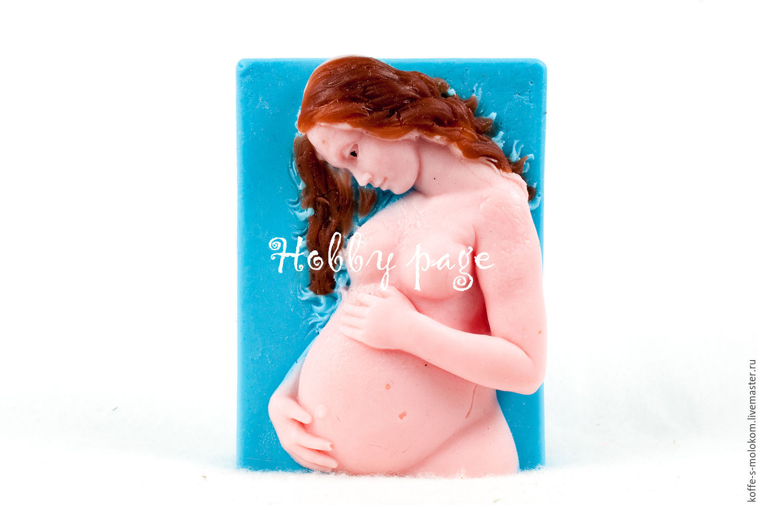 Silicone molds for soap Pregnant, Form, Moscow, Фото №1