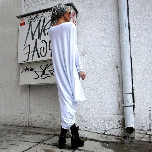 Платья ручной работы. Ярмарка Мастеров - ручная работа. Купить Платье Bianco. Handmade. Белый, красивое платье, дизайнерское платье
