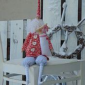 Куклы и игрушки ручной работы. Ярмарка Мастеров - ручная работа Тильда Санта - Клаус.. Handmade.
