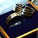 Кольца ручной работы. Ярмарка Мастеров - ручная работа. Купить Обручальные кольца. Handmade. Ярко-красный, золотой, красное золото