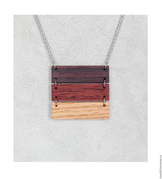 Кулоны, подвески ручной работы. Ярмарка Мастеров - ручная работа. Купить Подвеска из дерева.. Handmade. Комбинированный, подвеска из дерева