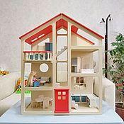Кукольные домики ручной работы. Ярмарка Мастеров - ручная работа Домик для кукол. Handmade.