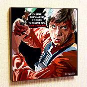 Картины и панно handmade. Livemaster - original item Picture poster Star wars Luke Skywalker. Handmade.