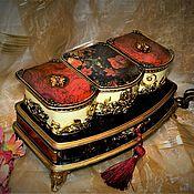 """Для дома и интерьера ручной работы. Ярмарка Мастеров - ручная работа """"Пурпур"""" шкатулка. Handmade."""