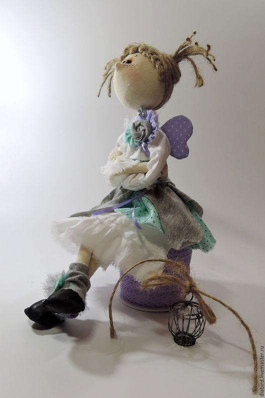 Куклы тыквоголовки ручной работы. Ярмарка Мастеров - ручная работа. Купить Озорная феечка. Интерьерная текстильная кукла, тыквоголовка.. Handmade.