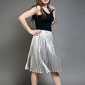 Одежда ручной работы. Ярмарка Мастеров - ручная работа Оригинальная юбка плиссе. Handmade.