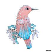 Украшения handmade. Livemaster - original item Brooch-Hummingbird