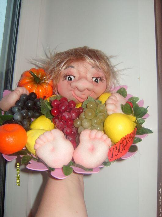 Народные куклы ручной работы. Ярмарка Мастеров - ручная работа. Купить ДОМОВОЙ. Handmade. Розовый, оберег для дома, домовой оберег
