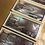 Сувениры и подарки ручной работы. Ярмарка Мастеров - ручная работа Корпоративный подарок . Шоколадные КАМАЗы. Handmade.