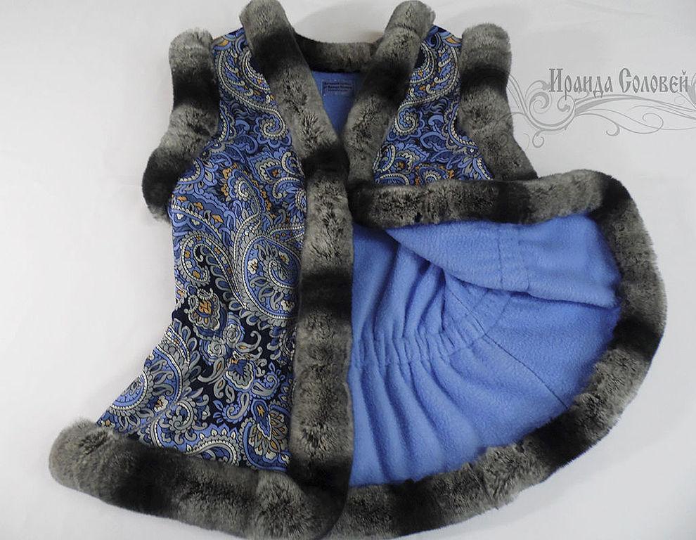 платки с натуральным мехом
