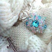 Украшения handmade. Livemaster - original item Bracelet and ring beaded and crystals