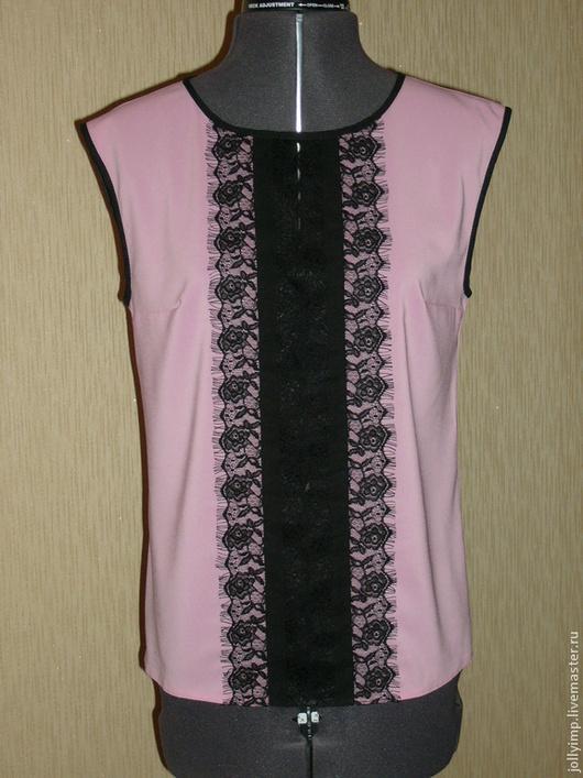 """Блузки ручной работы. Ярмарка Мастеров - ручная работа. Купить Блузка -топ """"Нежность"""". Handmade. Кремовый, блузка женская"""