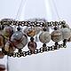 Каждая бусина яшмы в этом браслете имеет свой особый, неповторяющийся рисунок. Бусины яшмы для этого браслета из натуральных камней специально подобраны друг под друга. Браслет из натуральных камней.