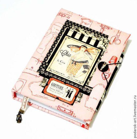 Блокноты ручной работы. Ярмарка Мастеров - ручная работа. Купить Блокнот для дизайнера-модельера. Handmade. Бледно-розовый, блокнот, мода
