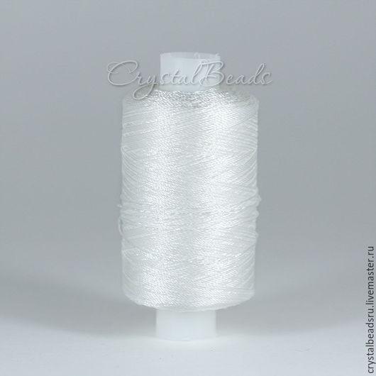Лавсановые нитки 86Л для фриволите и анкарса, для работы с кожей, для пошива сумок и кожгалантереи.