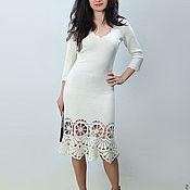 Одежда ручной работы. Ярмарка Мастеров - ручная работа Платье вязаное 4474. Handmade.