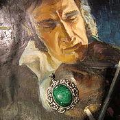 """Украшения ручной работы. Ярмарка Мастеров - ручная работа Кулон """"Застывшая мелодия"""".. Handmade."""