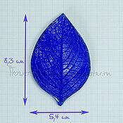 Молды ручной работы. Ярмарка Мастеров - ручная работа М104 Молд лист универсальный 5,4 см. Handmade.
