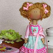 Куклы и игрушки ручной работы. Ярмарка Мастеров - ручная работа Интерьерная куколка Пироженка. Handmade.