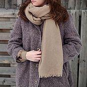 Пальто ручной работы. Ярмарка Мастеров - ручная работа Зимнее утепленное (демисезонное) пальто, шерсть с мохером, сиреневое. Handmade.