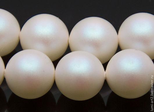 Для украшений ручной работы. Ярмарка Мастеров - ручная работа. Купить 12мм Pearlescent White Жемчуг Сваровски 969 Swarovski Perl. Handmade.