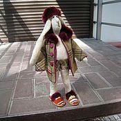 Сувениры и подарки ручной работы. Ярмарка Мастеров - ручная работа Буржуй-заяц интерьерный. Handmade.