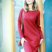 Одежда handmade. Livemaster - original item Warm elegant dress