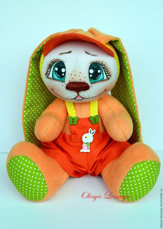 Коллекционные куклы ручной работы. Ярмарка Мастеров - ручная работа. Купить Зайка солнечный рыжик. Handmade. Зайка, подарок девушке
