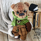 Куклы и игрушки handmade. Livemaster - original item Bear Platon Ivanovich. Handmade.