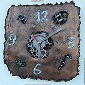"""Для дома и интерьера ручной работы. Ярмарка Мастеров - ручная работа Часы """"Стимпанк"""". Handmade."""
