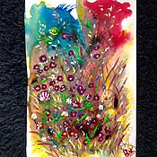 Картины и панно handmade. Livemaster - original item Floral fantasy 2.. Handmade.