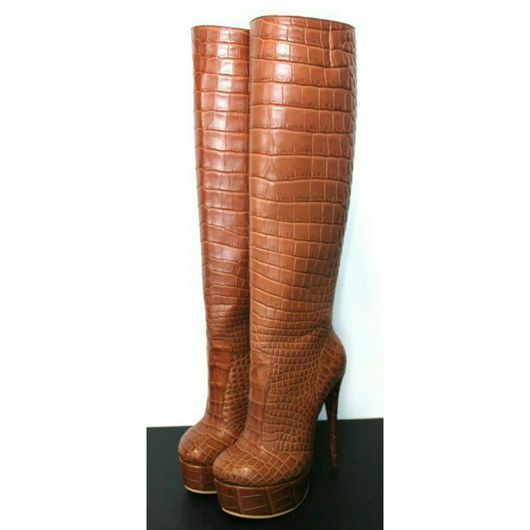 Обувь ручной работы. Ярмарка Мастеров - ручная работа. Купить Сапоги ручной работы. Handmade. Коричневый, ручная работа