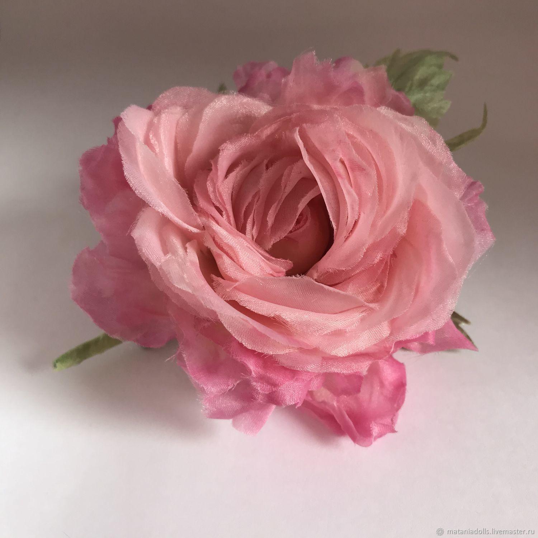 silk 'rose of Bourbon' Bourbon Roses, Flowers, Liepaja,  Фото №1
