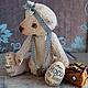 Мишки Тедди ручной работы. Ярмарка Мастеров - ручная работа. Купить Тедди Мишка Капучина. Handmade. Бежевый, подарок