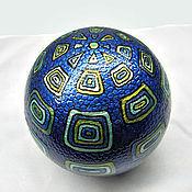 Сувениры и подарки ручной работы. Ярмарка Мастеров - ручная работа Звенящий шар Blue.. Handmade.