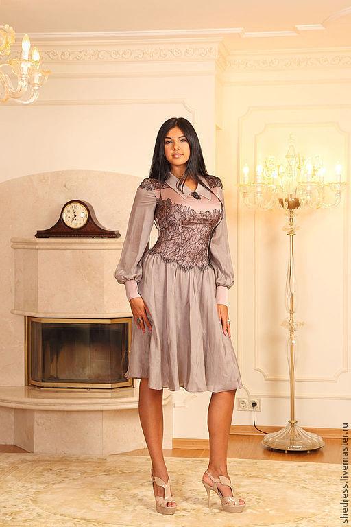 Изысканное шелковое платье, для любых случаев!