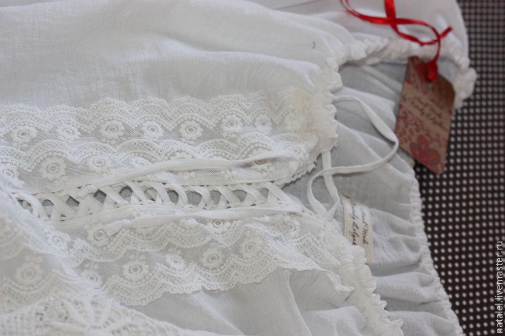 Белая ажурная туника доставка