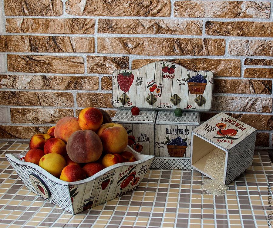 Kitchen set of 'Juicy fruit', Sets, , Фото №1
