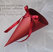Корзинки ручной работы. Ярмарка Мастеров - ручная работа Кулек для лепестков №6. Handmade.
