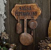 """Для дома и интерьера ручной работы. Ярмарка Мастеров - ручная работа """"Peperoncino"""" Интерьерный комплект аксессуаров. Handmade."""